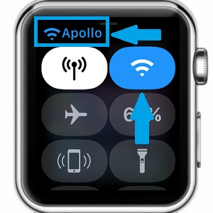 how to connect apple watch to wifi series 3
