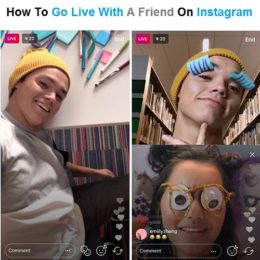 go live with a friend on instagram