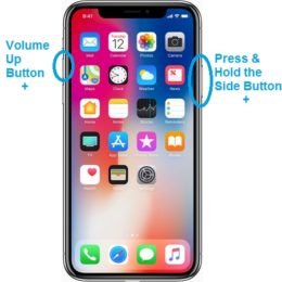 how to turn off iphone x