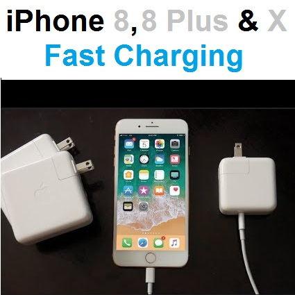 sports shoes f71d1 6b873 iPhone 8, iPhone 8 Plus and iPhone X Fast Charging Facts And Figures ...