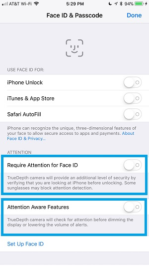 2 Tricks To Make Face ID Unlock The iPhone X Even Faster