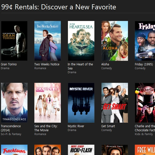 iTunes Sale: Rent HD Movies For $0 99 (48 Hours Availability
