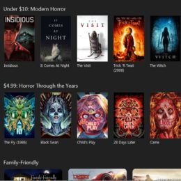 itunes horror movies for halloween sale