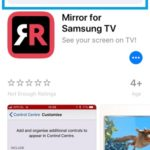 How To Mirror Your iPhone Or iPad To A Samsung TV Without Using An
