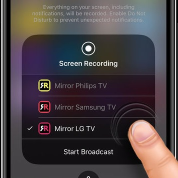 connect iphone to lg smart tv airbeamtv launches app app that allows your to 6281
