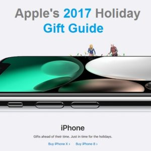 apple 2017 holiday gift guide