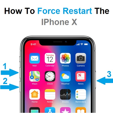 force iphone restart how to restart the iphone x iphonetricks org 10632