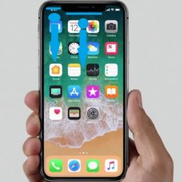 how to open notifications screen on iphone x