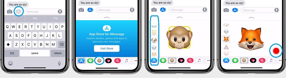 How To Record And Send Animoji Messages On iPhone X