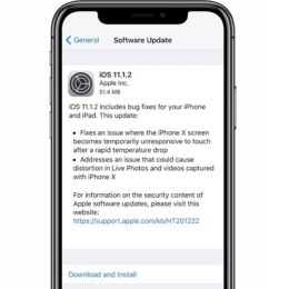 ios 11.1.2 iphone x software update