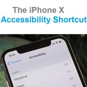 iphone x accessibility settings