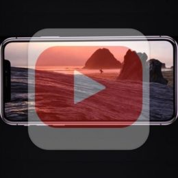 iphone x fullscreen youtube playback