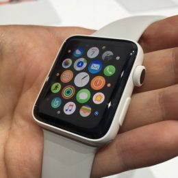 handing over old Apple Watch