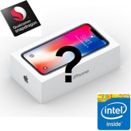 iPhone X with Qualcomm or Intel modem