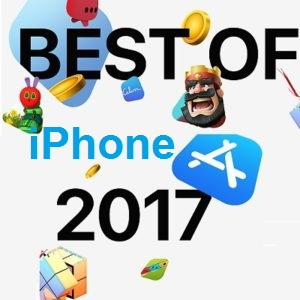 Most downloaded iPhone apps and games in 2017.