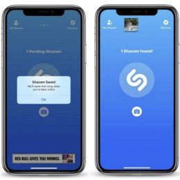 shazam working in offline mode