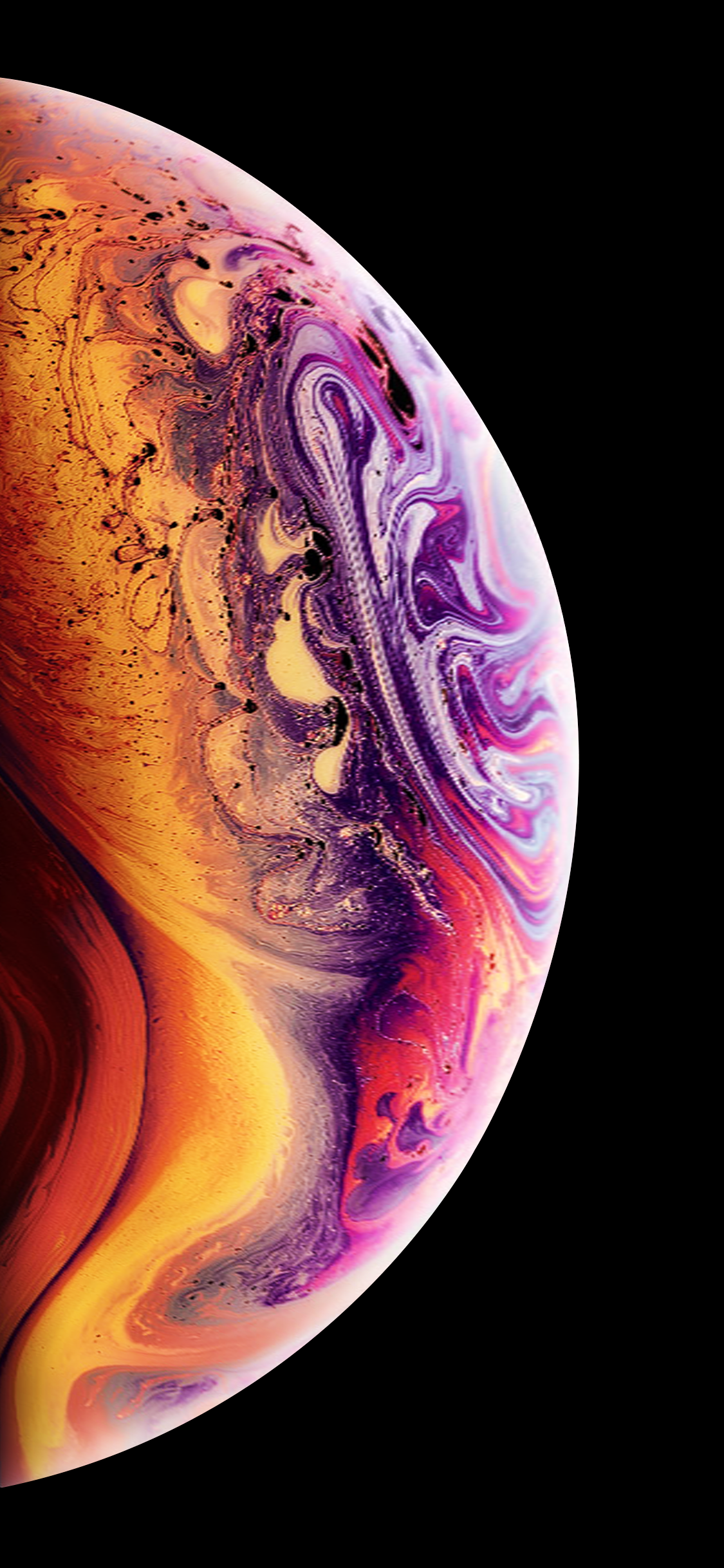 Download The 2018 Iphone Xs Soap Bubble Wallpaper