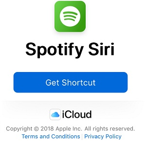 iOS 12 Shortcut For Playing Music From Spotify Via Siri