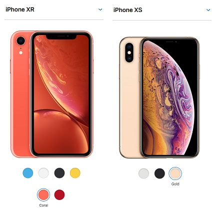 iphone xr vs xs