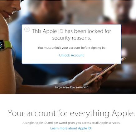 How To Fix The Apple ID Lock Out Because Of Security Reasons Glitch
