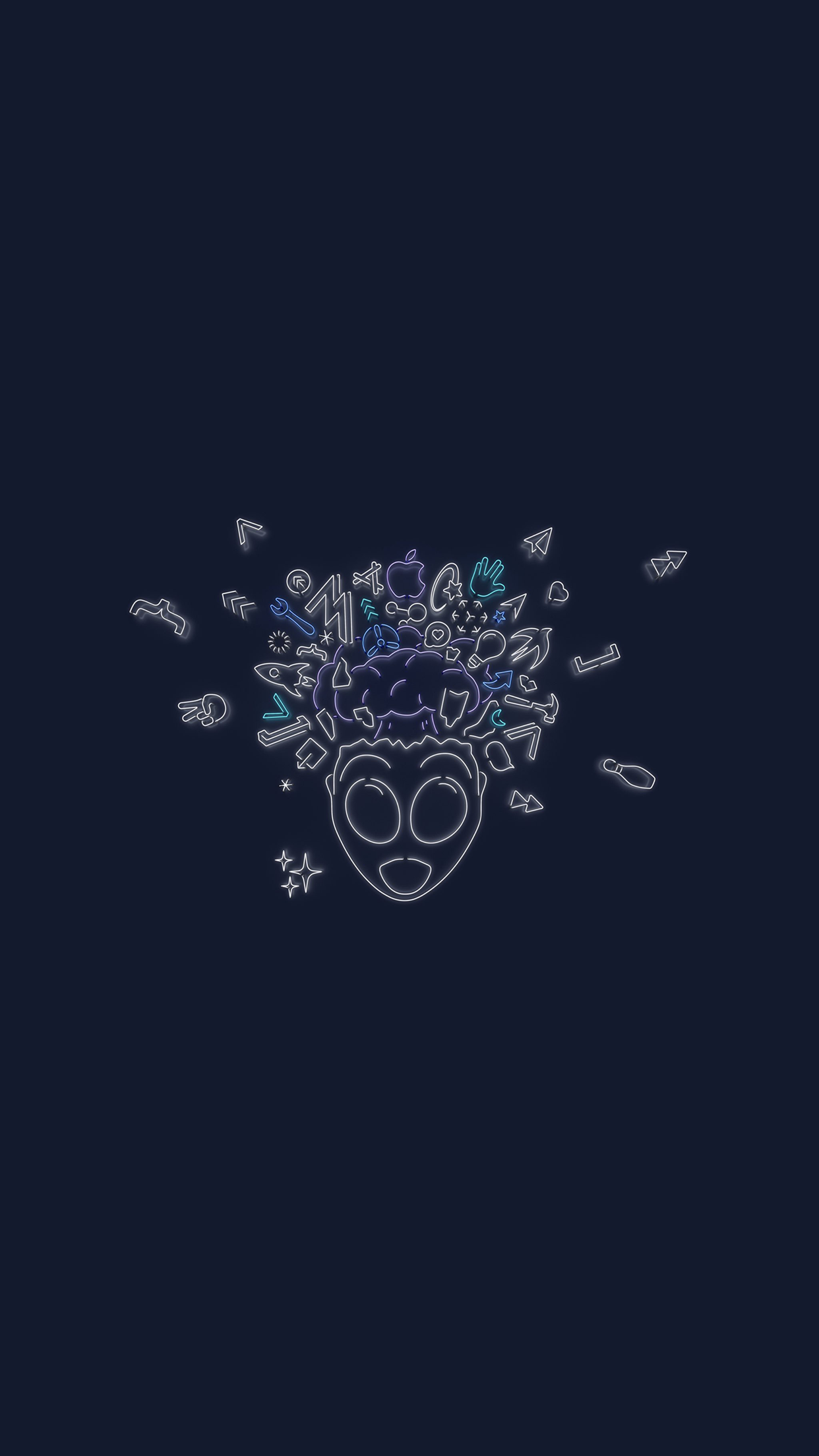 Download The Wwdc 2019 Dark Mode Themed Wallpapers For Iphone Ipad