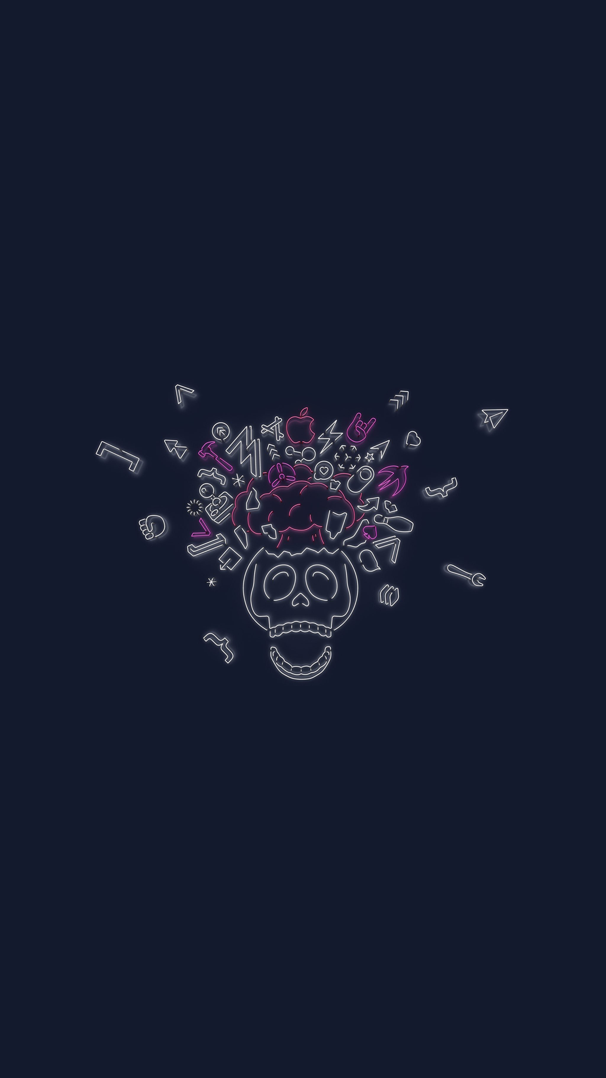 Download The Wwdc 2019 Dark Mode Themed Wallpapers For