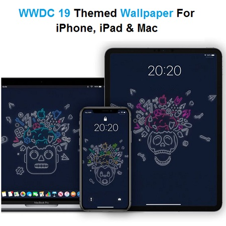 Download The WWDC 2019 Dark Mode Themed Wallpapers For iPhone, iPad