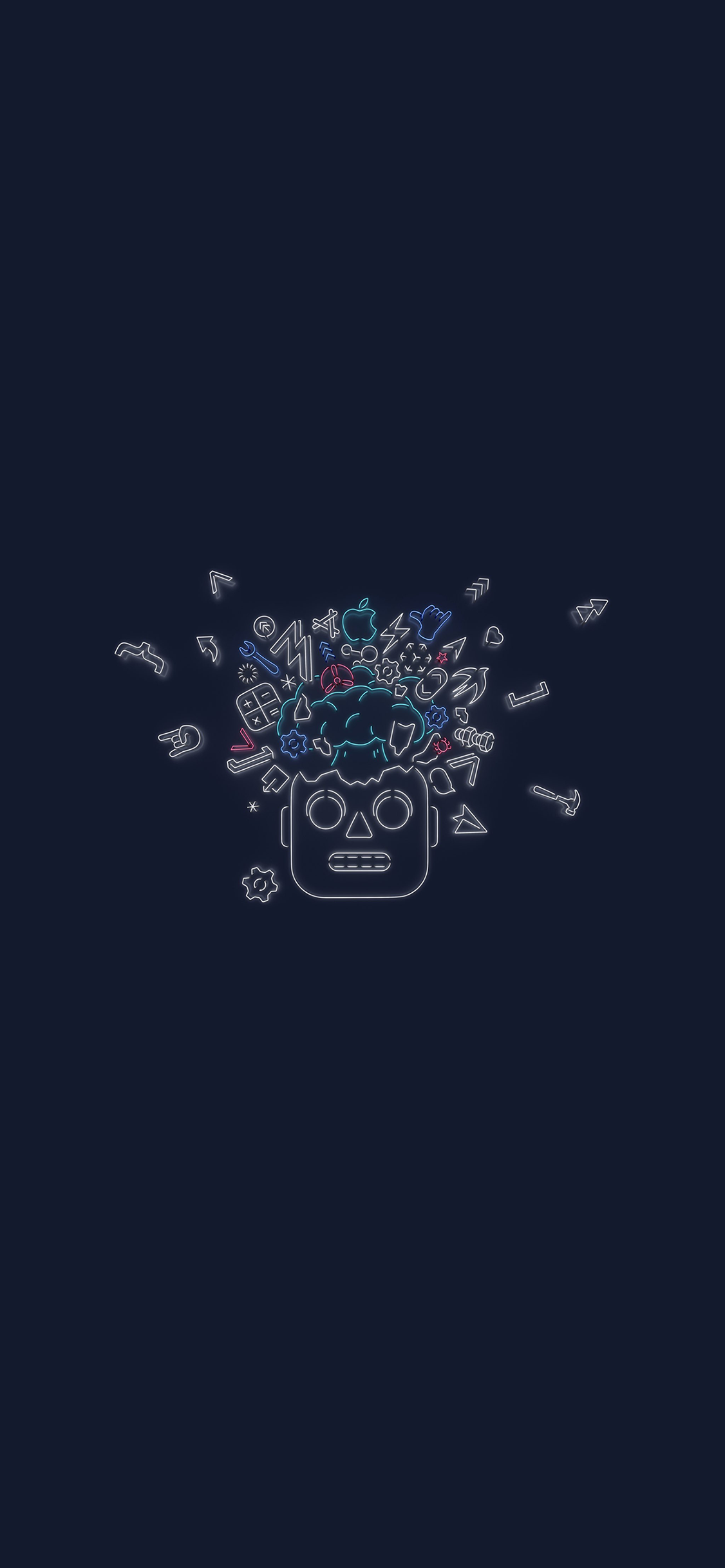 wwdc 19 wallpaper for iphone x and